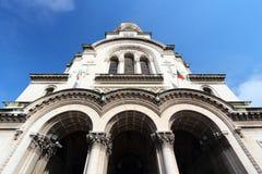 Sofia Orthodox Cathedra Immagini Stock Libere da Diritti