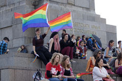 Sofia Pride royalty free stock photo