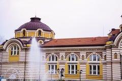 Sofia Public Bathhouse Royalty Free Stock Photography