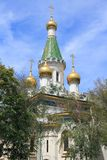Sofia Russian Church stock fotografie