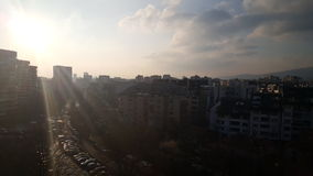 Sofia-Sonnenaufgang Stockfotografie