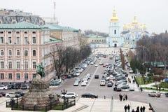 Sofia Square från över Royaltyfri Fotografi