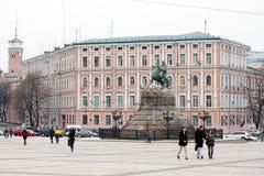 Sofia Square in Kyiv Stock Photography