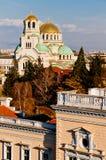 Sofia, St. Aleksander Newski catedral Stock Photography