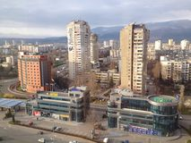 Sofia suburbs, Bulgaria Stock Photography
