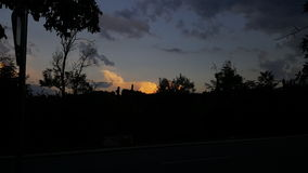 Sofia Sunset Photos libres de droits