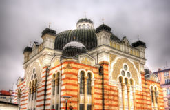 Sofia Synagogue. The largest synagogue in Southeastern Europe - Bulgaria royalty free stock photography