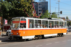 Sofia tramway Royalty Free Stock Photography