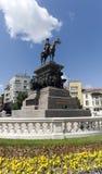 Sofia Tsar Alexander II Monument. The monument of Tsar Alexander II of Russia in Sofia Stock Images