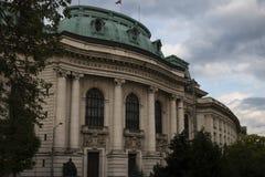 Sofia University Bulgarien Arkivbilder
