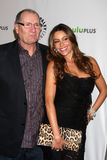 Sofia Vergara,Ed O'Neill Royalty Free Stock Images