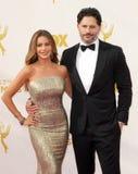 Sofia Vergara et Joe Manganiello Image libre de droits