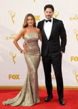 Sofia Vergara and Joe Manganiello Royalty Free Stock Photography
