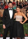 Sofia Vergara and Joe Manganiello Royalty Free Stock Photo