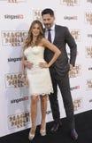Sofia Vergara and Joe Manganiello Royalty Free Stock Image
