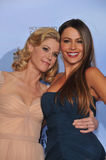 Sofia Vergara, Julie Bowen Stock Images