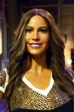 Sofia Vergara na senhora Tussauds de New York imagem de stock