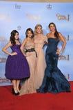 Sofia Vergara, Sarah Hyland, Julie Bowen, Ariel-Winter lizenzfreies stockbild