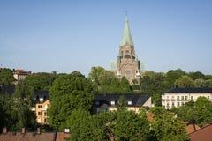 Sofiakyrka à Stockholm, Suède Photo libre de droits