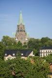 Sofiakyrka, Stockholm, Suède Images libres de droits