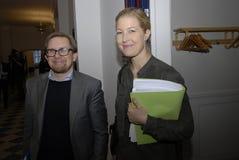 SOFIE CARSTEN NIELSEN & IMON EMIL AMITZBOLL Royalty Free Stock Photo
