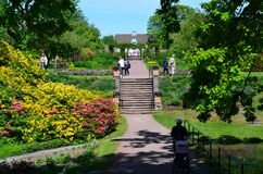 Free Sofiero Park Ang Royal Garden On A Nice Sunny Day In Helsingborg, Sweden Stock Images - 185646224
