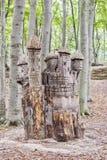 Sofiero Tree Stump Castle Stock Photo