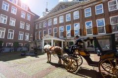 Sofitel传奇盛大旅馆在阿姆斯特丹 库存照片