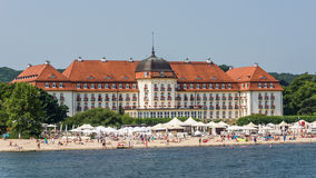 Sofitel Grand Sopot Royalty Free Stock Photography