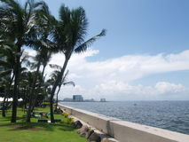 Sofitel Manila hotelowa zatoka Zdjęcia Royalty Free