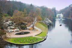 Sofiyivsky公园在乌曼 库存图片