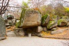 Sofiyivsky公园在乌曼 库存照片