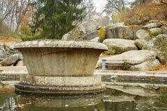 Sofiyivsky-Park in Uman Stockfotografie