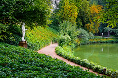 Sofiyivsky Park at the Uman Stock Image