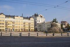 Sofiyskaya Square Kiev Royalty Free Stock Photos