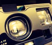 Sofortiges Kameraobjektiv der Weinlese Stockfotografie