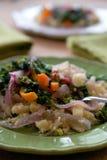 Sofrito del arroz de la coliflor Fotografía de archivo libre de regalías