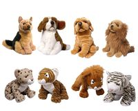 Soft animal toys royalty free stock photography
