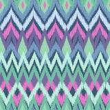 Soft aqua aztec print Royalty Free Stock Photo