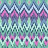 Soft aqua aztec print