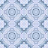 Soft Aqua blue Icy Seamless Background Pattern Tile Stock Photography