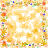 Soft autumn colors scrapbook Stock Images