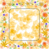 Soft autumn colors scrapbook Stock Photography