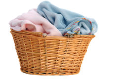 Soft Baby Blankets Stock Photo