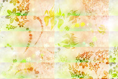 Soft background with  flowers Royalty Free Stock Image