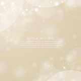 Soft background in light brown color Royalty Free Stock Photos