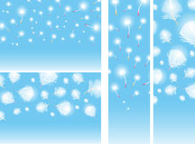 Soft Backgrounds Collection Royalty Free Stock Photos