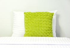 Soft Bed Pillow Stock Photos