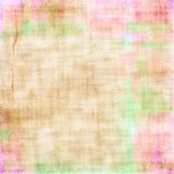 Soft beige textured background. With pink and green highlights Royalty Free Stock Photography