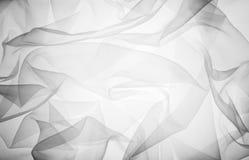 Soft black chiffon texture Stock Images